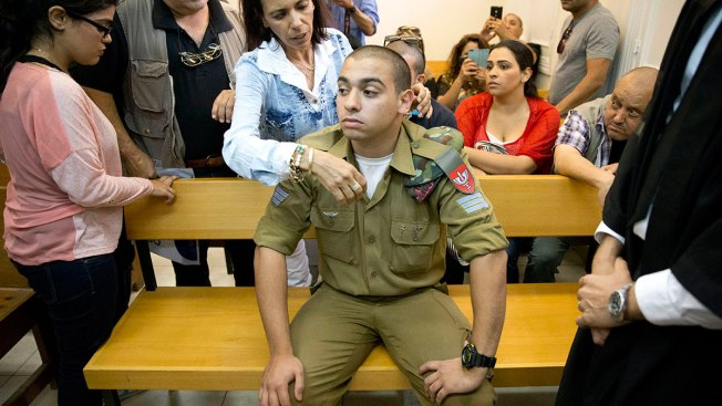 Israeli Soldier Convicted in Death of Palestinian Assailant