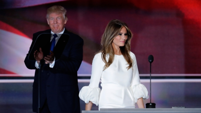 Melania Trump Steps Into Spotlight of GOP Convention