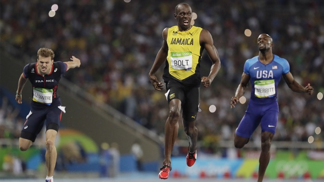Bolt Runs Away With 200 Meters