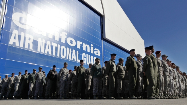 Lawmakers Won't Make Calif. Guard Troops Repay Bonuses