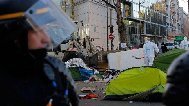 Police Operation Creates Tension in Paris Migrant Camp