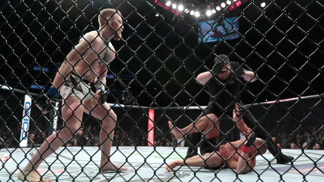Conor McGregor demands UFC share following win over Eddie Alvarez