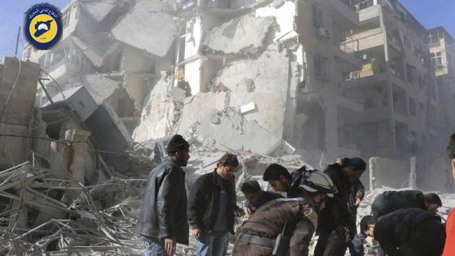 Syrian Troops Capture Major Aleppo Neighborhood