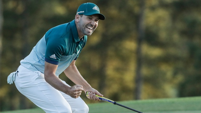 Sergio Garcia Wins Masters Golf Tournament at Augusta National