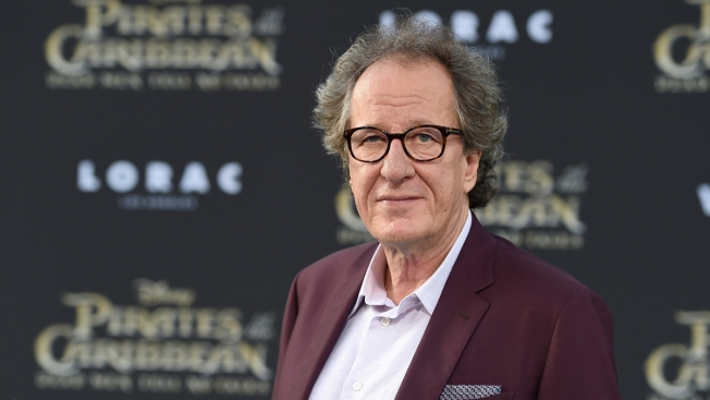 Geoffrey Rush Denies 'Inappropriate Behavior' at Theater