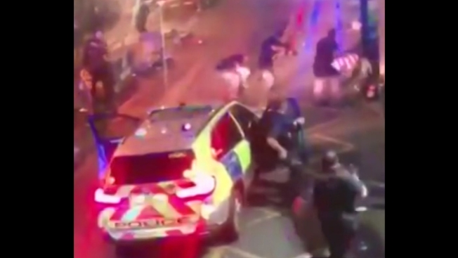 CCTV footage of police shootout with London Bridge attackers emerges