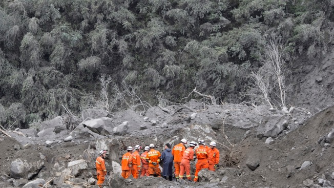 10 Bodies Found After Landslide Buries Scores in China