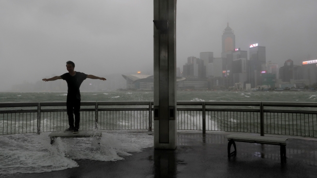 At Least 16 Dead as Strong Typhoon Floods Macau, Southern China