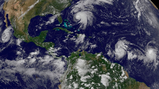 As Norma Nears Mexico, Maria Becomes New Threat to Caribbean