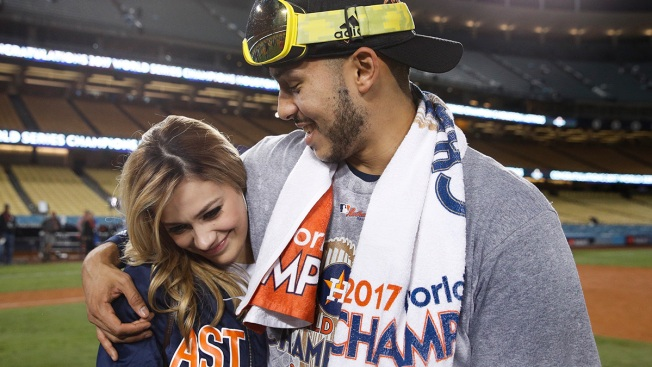 2 Rings! Astros' Carlos Correa Makes Post-Title Proposal