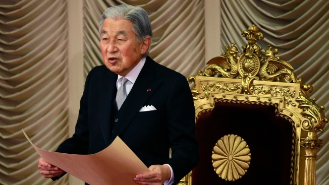 Emperor Akihito will become first Japanese monarch to abdicate in 200 years