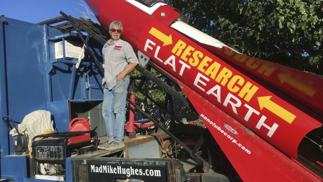 Self-Taught Rocket Scientist Mad Mike Hughes Plans to Launch Over Ghost Town