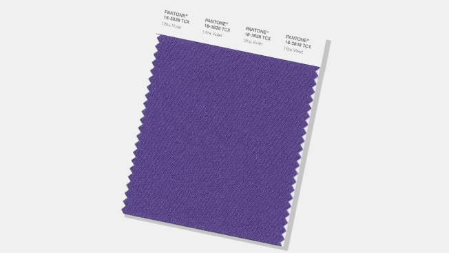 Deep purple named the Pantone colour of 2018