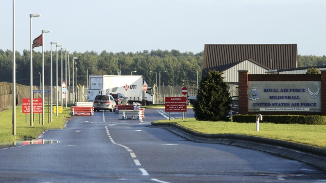 Shots Fired in 'Disturbance' at UK Base Used by US Air Force