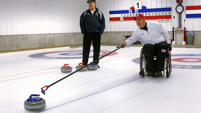 Paralyzed Ex-UConn Hoops Player Now a Curling Paralympian