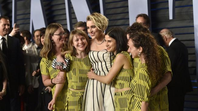 Stars Let Loose at Oscar Parties Marking Awards Season's End