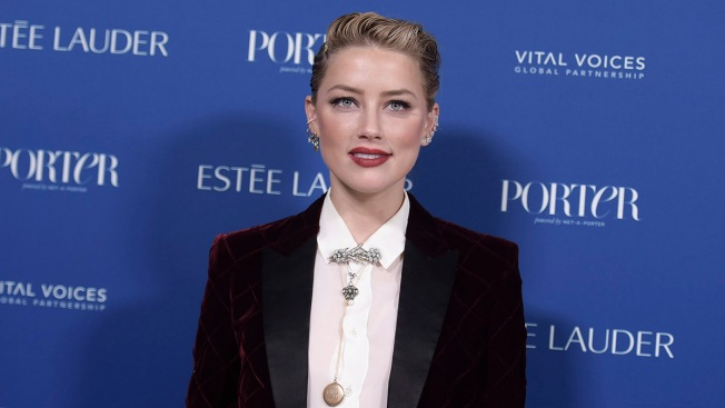 Amber Heard Says She Is Happy to Have Moved on With Her Life