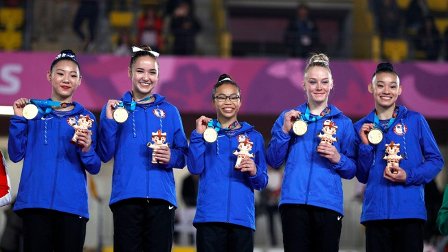 Morgan Hurd Inspires Other Young Gymnasts to Wear Eyeglasses