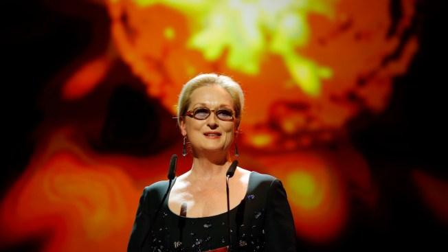 Meryl Streep to Receive Globes' Cecil B. DeMille Award