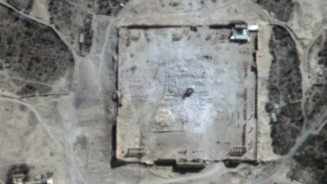UN: Satellite Images Show Syria's Temple of Bel 'Destroyed'