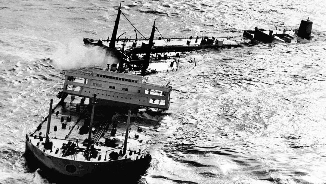 50 Years After Torrey Canyon Oil Spill, a Unique Record of Nature's Fight Back