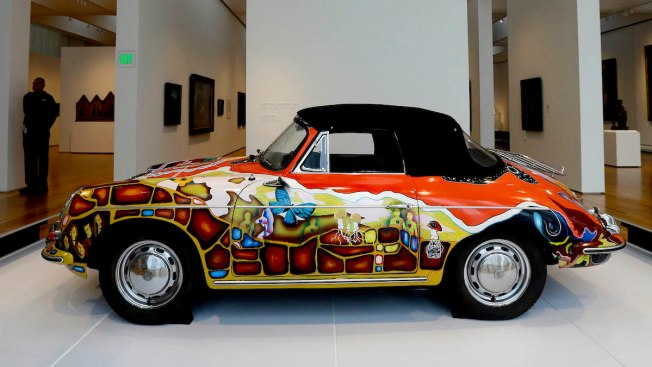 Janis Joplin's Psychedelic Porsche Going on Auction Block