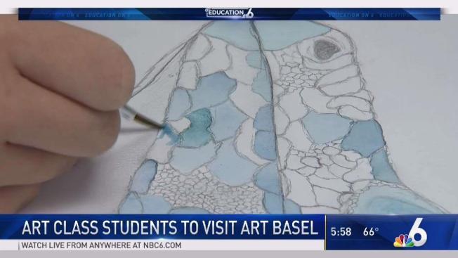 Miami Springs Florida Map.Miami Springs Students Expand Horizons Through Art Nbc 6 South Florida
