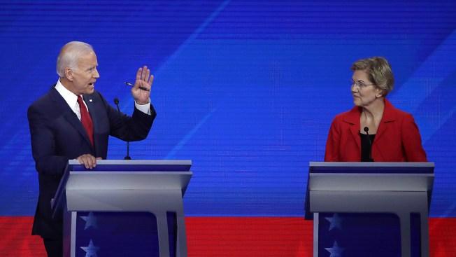 Biden Defends His 'Vision' Against Warren's Indirect Attacks