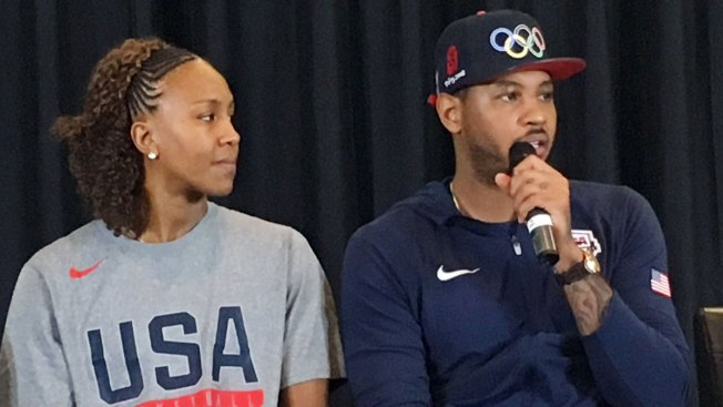 Carmelo Anthony Gathers Athletes, Cops and Kids in Conversation