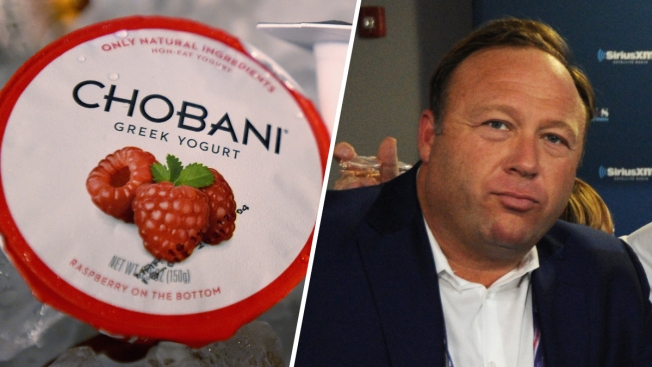 Alex Jones Retracts Comments About Chobani Yogurt as Lawsuit Resolves