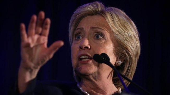 Clinton Basks in Glow of Women Senators, With One Absence