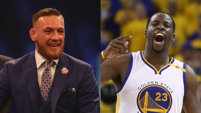 Draymond Green, Conor McGregor trade Instagram blows over a Warriors jersey