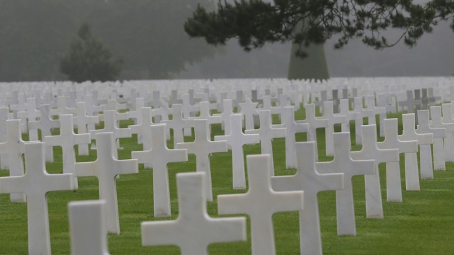 D-Day Ceremony Spotlights Trump's Complicated Military Ties
