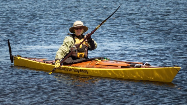 "Grandmother Calls Solo 2,500-Mile Kayak Odyssey ""Easier Than I Thought,"" So Far"