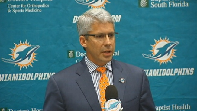 Dennis Hickey Introduced as New Miami Dolphins GM
