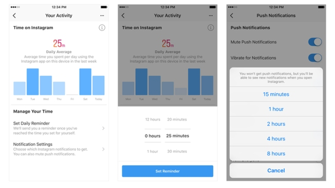 You'll Soon Be Able to See Exactly How Much Time You Spend on Facebook and Instagram Apps