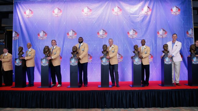 Hall of Fame welcomes latest class; Harrison, Pace 1st to enter