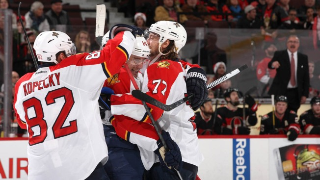 Florida Panthers Nab 5th Straight Win