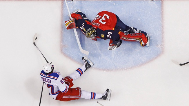 Florida Panthers End 2013 With Loss to Rangers, 2-1