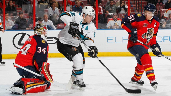 Florida Panthers Shut Out by San Jose Sharks 3-0