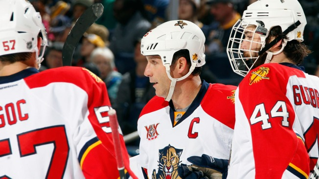 Ed Jovanovski Sparks Florida Panthers to 4-3 Win Over Sabres