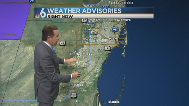 Frost Advisory for Inland South Florida Through Thursday at 9 A.M.