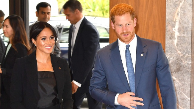 Meghan Markle Suits Up Alongside Prince Harry to Honor Severely Ill Kids
