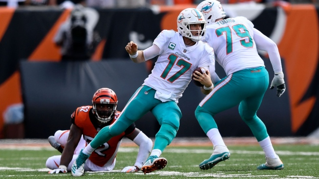 Tannehill Accepts Blame Following Dolphins Collapse in Cincinnati