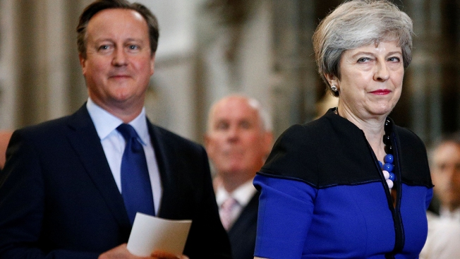Former British PM David Cameron 'Sorry' for Creating Brexit Divisions