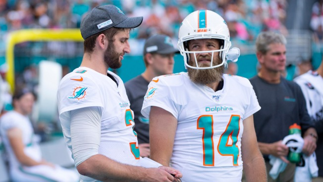 Ryan Fitzpatrick to Start for Dolphins at Buffalo on Sunday