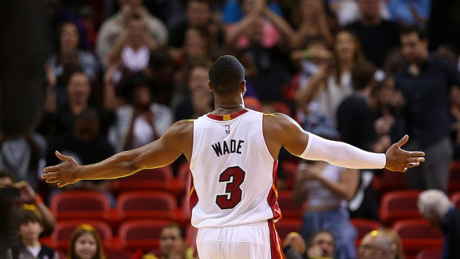 pretty nice 851c4 6fb38 Heat Reveal Ceremony Plans for Dwyane Wade's Home Finale ...