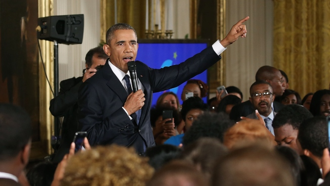 President Obama Warms Up White House for Rapper Wale