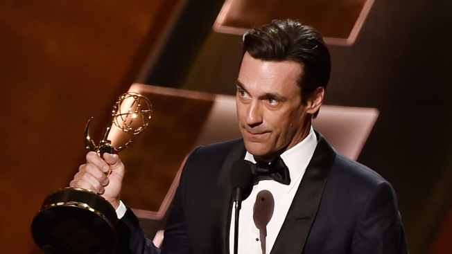 How Is Jon Hamm Following Up His 'Mad Men' Emmy Win? He's Joining 'SpongeBob Squarepants'