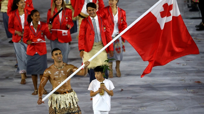 Gisele, Tonga and Team USA Generate Opening Ceremony Buzz